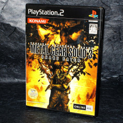 Metal Gear Solid 3 Snake Eater PS2 - Japan