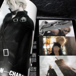 Final Fantasy VII Advent Children Reunion Files Book