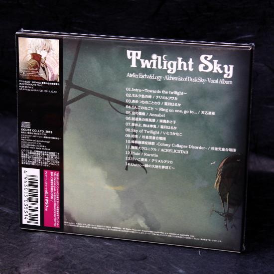 Twilight Sky Atelier Escha Logy Alchemist of Dusk Sky Vocal Album