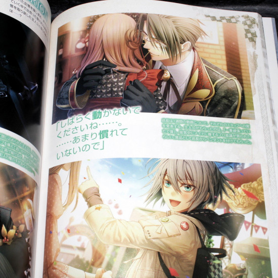 Amnesia Crowd - B'sLog Collection - Official Visual Fan Book