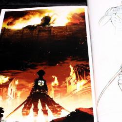 Attack on Titan / Shingeki no Kyojin - Art Book - 1