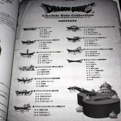 Dragon Quest - Ukulele Solo Collection Score