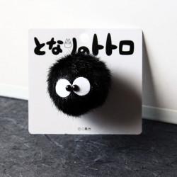 Totoro - Dust Sprite Bunny Makkuro Kurosuke Brooch