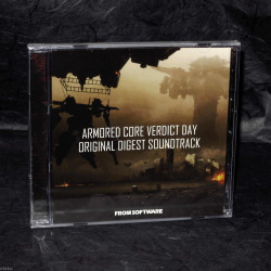 ARMORED CORE VERDICT DAY ORIGINAL DIGEST SOUNDTRACK