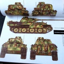 Panzerkampfwagen V Panther - Military Detail Illustration