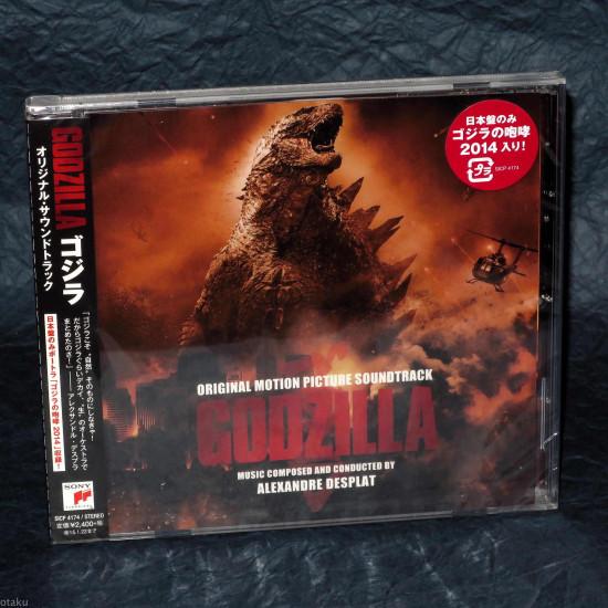 Alexandre Desplat - Godzilla - Soundtrack - Japan Edition