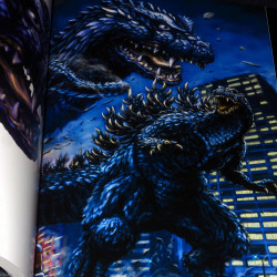 Artworks of Yasushi Torisawa - The Attack of Toho Monsters