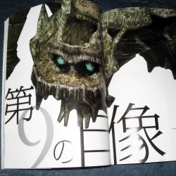 Shadow Of The Colossus - PS2 Game Art And Guide Book