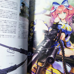 Gun and Girl Illustrated Firearms 2020 Ver.