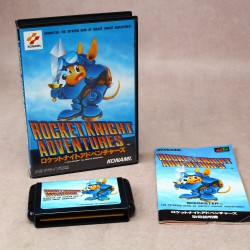 Rocket Knight Adventures - Mega Drive Japan